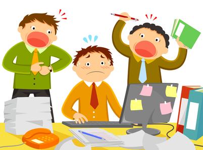 El estrés de los que trabajan.